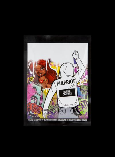 Pulp Riot Black Canvas