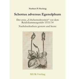 Schottus adversus Egenolphum