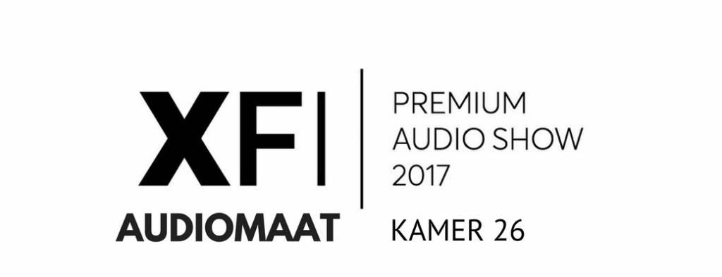 Audiomaat op de X-FI Audioshow!