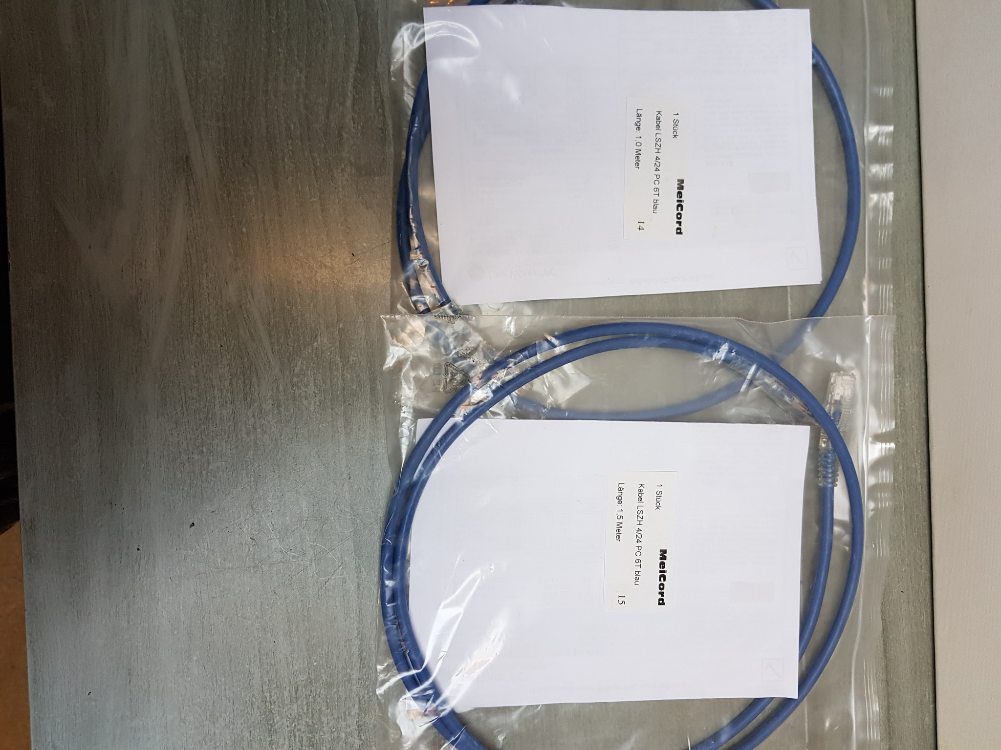 Meicord Meicord Opal UTP ethernet cable  1.5m