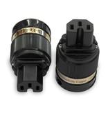IeGo 8085 Gold plated IEC Plug