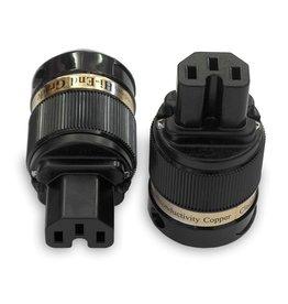 IeGo 8075 Rhodium plated Schuko Plug