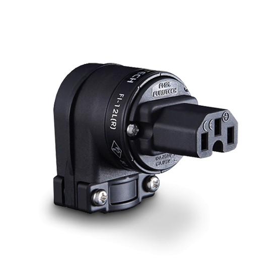Furutech FI-12L (Rhodium) Angled IEC Plug