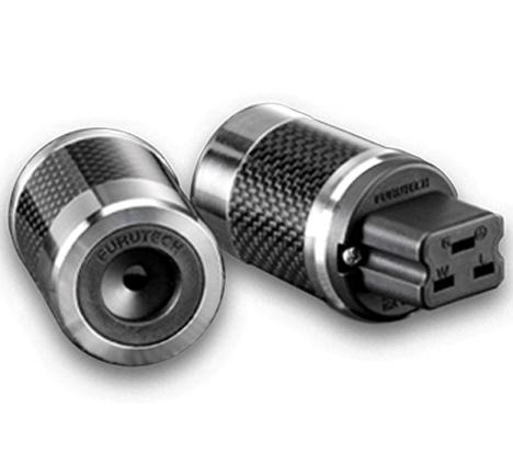 Furutech FI-52(Rhodium) Shielded 20 A IEC Plug