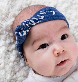 Haarband - Knoop - Blauw - Joggy Jack