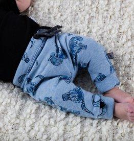 Broek - Drop crotch - Blauw - Tiny Torro