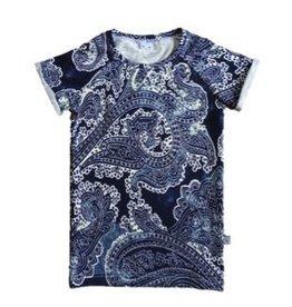 Batik Blue / Tee dress