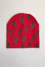 tinymoon Mr. Prickles  red / newborn beanie / mutsje