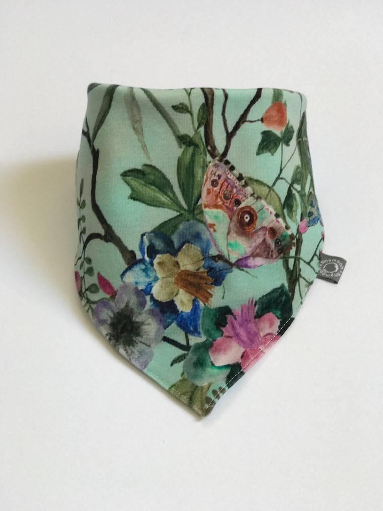 Slab bandana mintkleurige sjaal