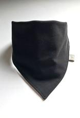 Zwarte slab bandana sjaal