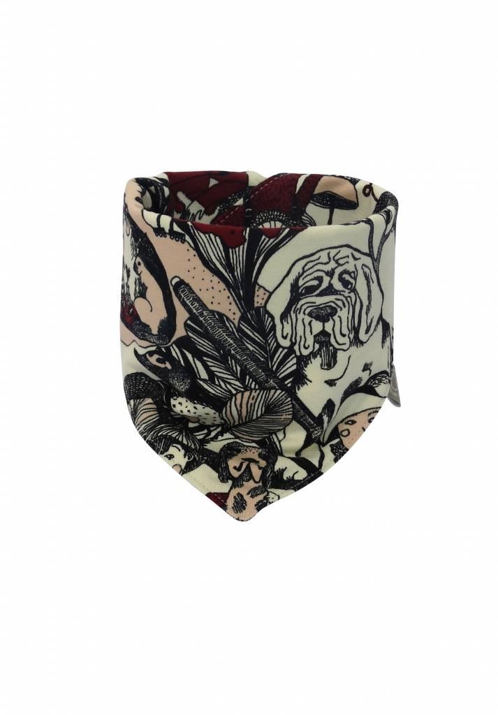 Baby slab bandana met sprookjes print