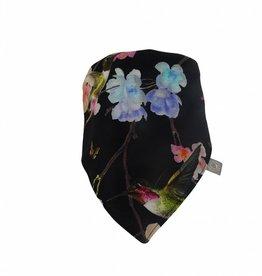 Sjaal - Slab bandana - Zwart - Beija Flor