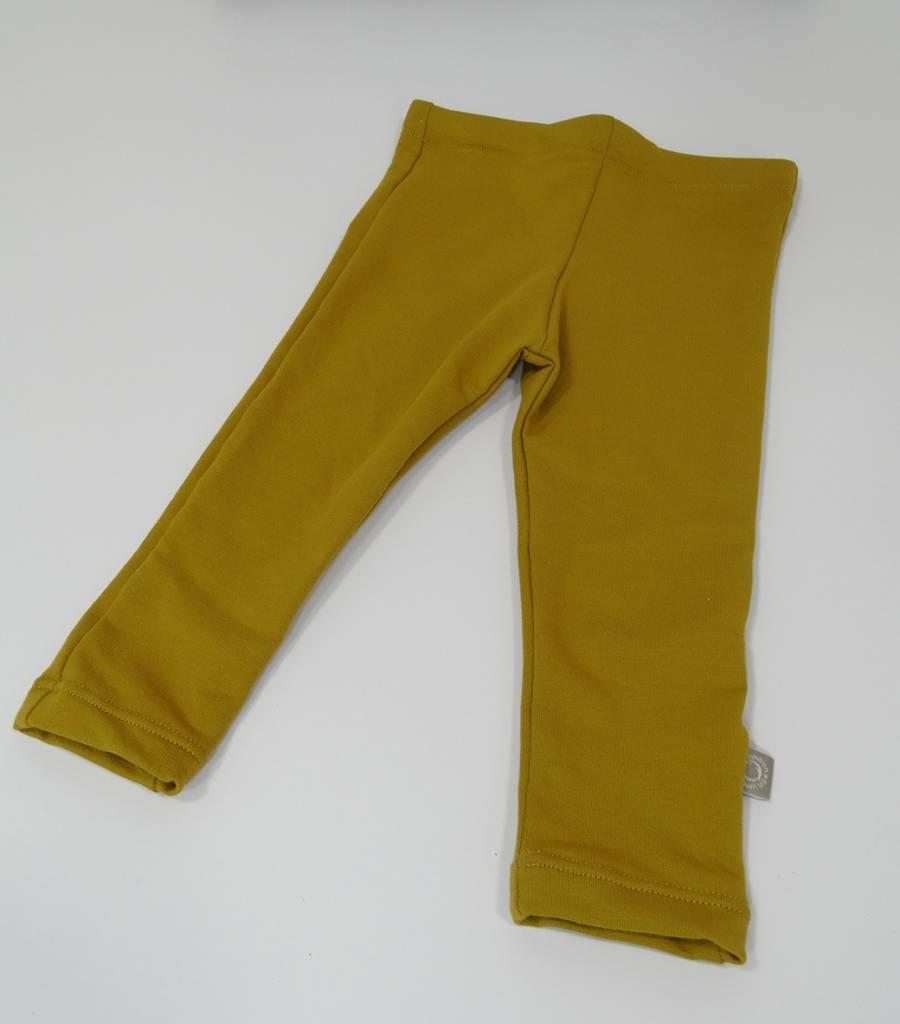 tinymoon  Basic Ocre / joggingstof legging