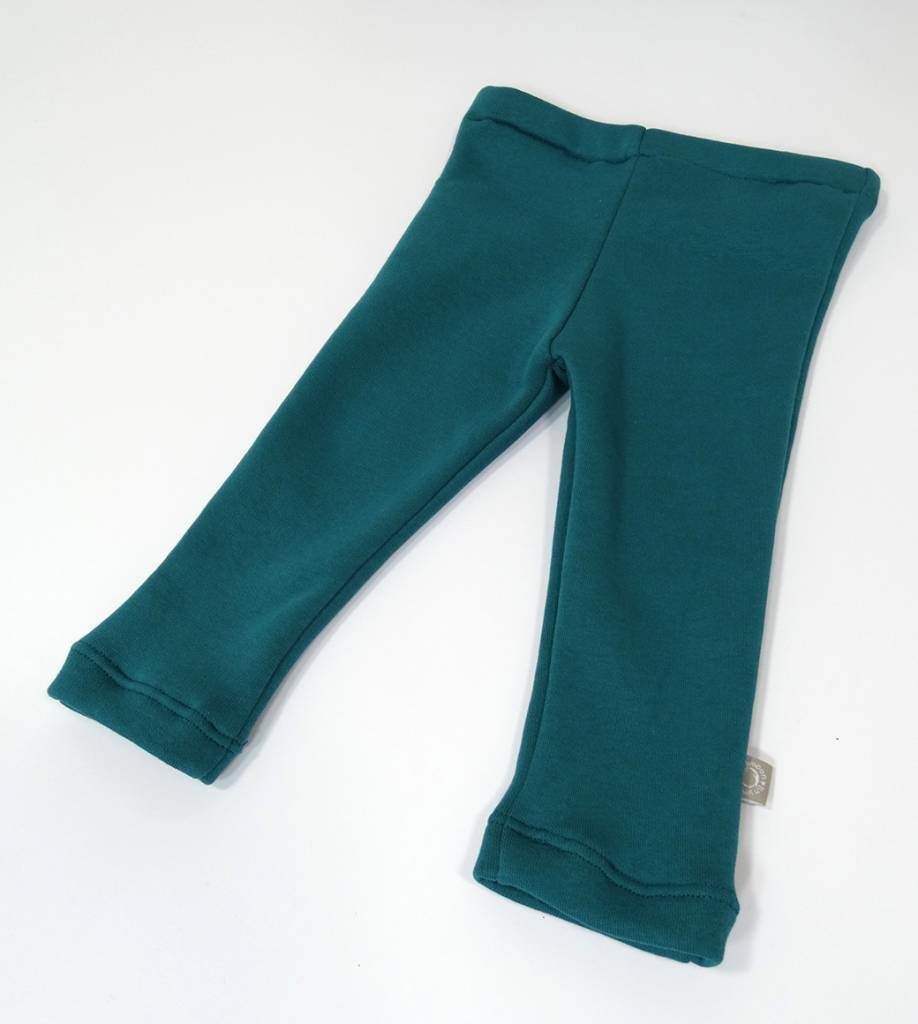 tinymoon Basic Green / joggingstof legging - Copy