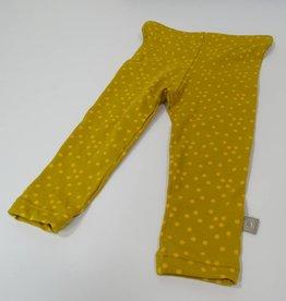 Broek - Legging - Oker - Ocre Dots