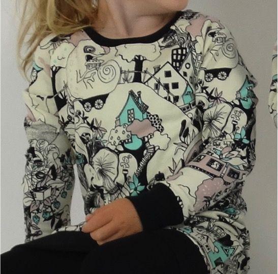 tinymoon   Fairytale Forest / Sweater Dress