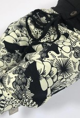 Harembroekje met gave zwart-witte oosterse print