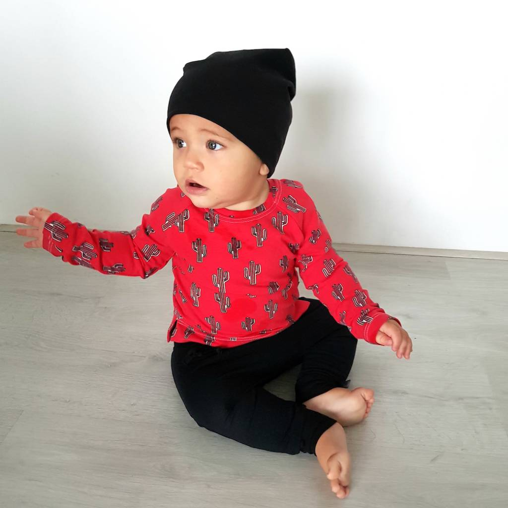 tinymoon Mr Prickles red  / Long Sleeve