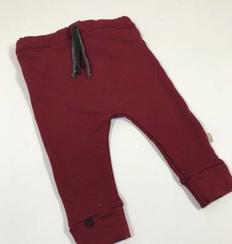 Broek - Drop crotch - Rood - Basic Bordeaux