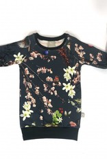 Sweater Dress voor meisjes met Japanse bloesem
