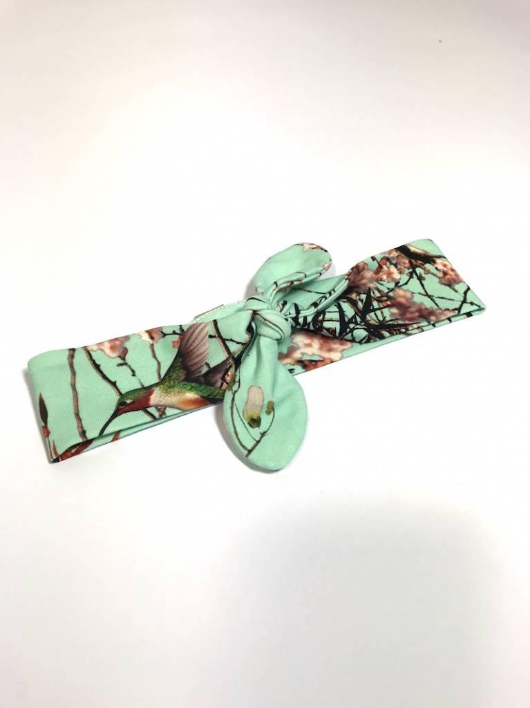 tinymoon Bamboo Breeze mint / haarband strik