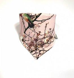 Sjaal - Slab bandana - Roze - Bamboo Breeze