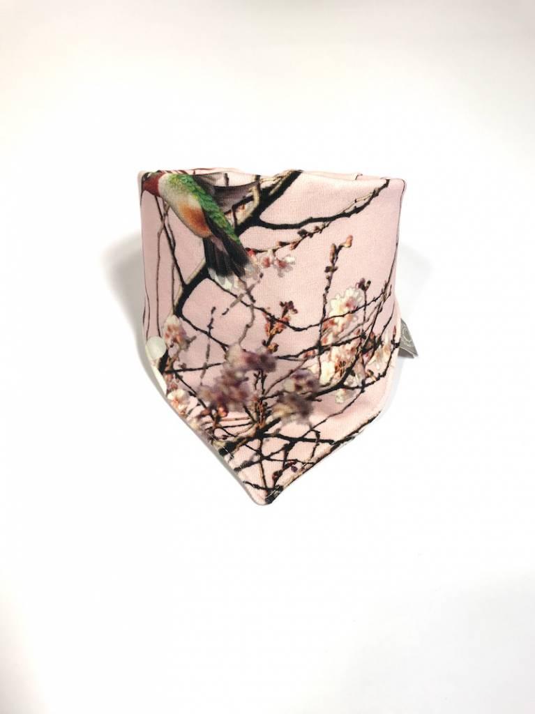 tinymoon  Bamboo Breeze pink / slab bandana sjaal