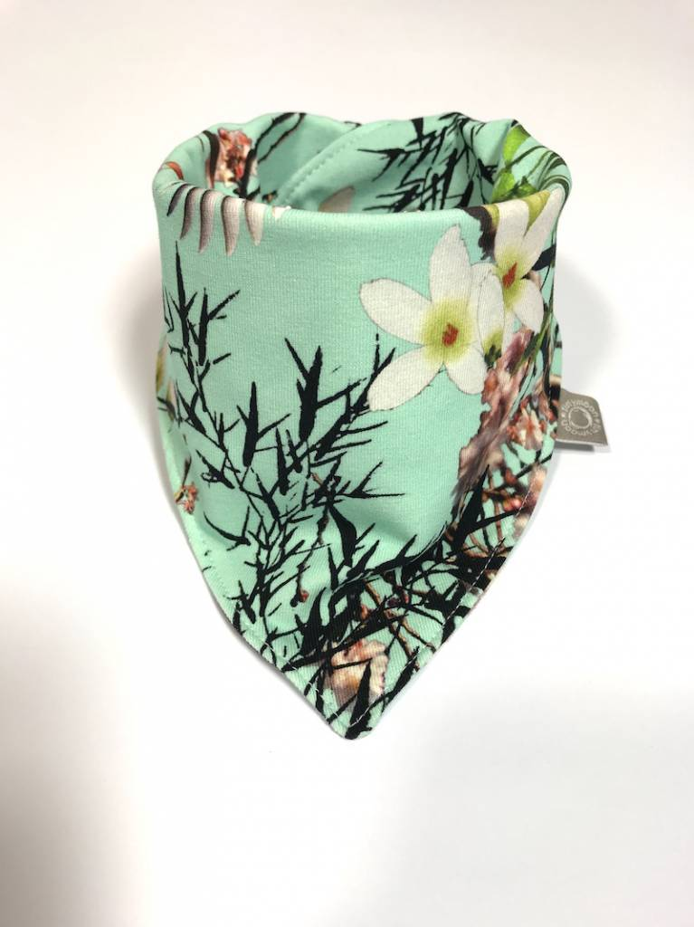 tinymoon  Bamboo Breeze mint / slab bandana sjaal
