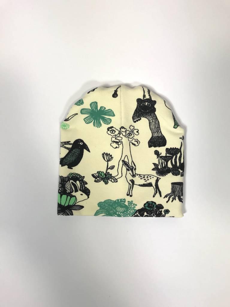 tinymoon Wild Woods / newborn beanie / mutsje