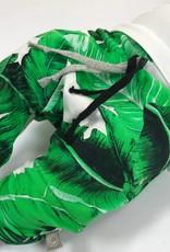 Harembroekje met duurzaam bladeren motief