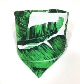 Sjaal - Slab bandana - Groen - Botanical Boost