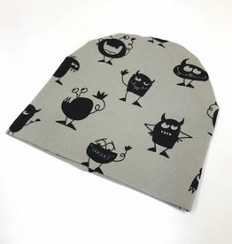 Monster Madness /  newborn beanie / mutsje