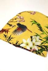 tinymoon Bamboo Breeze yellow  / newborn beanie / mutsje