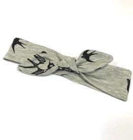 Maika'i Maika'i grey / haarband strik