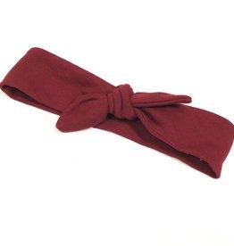 Haarband - Strik - Bordeaux - Basic