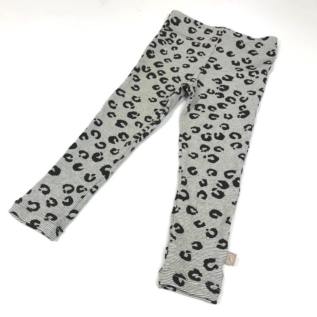 tinymoon Leopard Lines black / legging