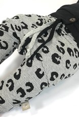 tinymoon Leopard Lines black / drop crotch