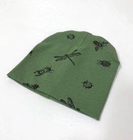 Bugs Army / newborn beanie / mutsje