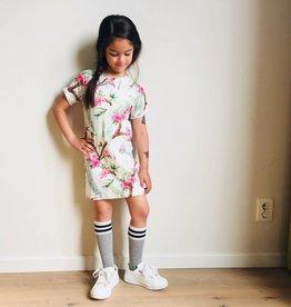 Jurk - Tee dress - Wit - Nila Mayura