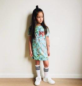 Jurk - Tee dress - Mint - Bamboo Breeze