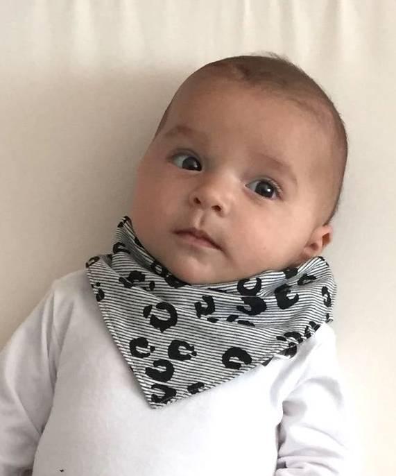 tinymoon Leopard Lines / slab bandana sjaal