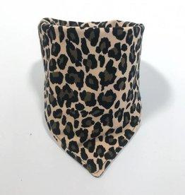 Lovely Leopard brown / slab bandana sjaal