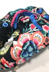 Baggy broekje met gekleurde bloemenprint