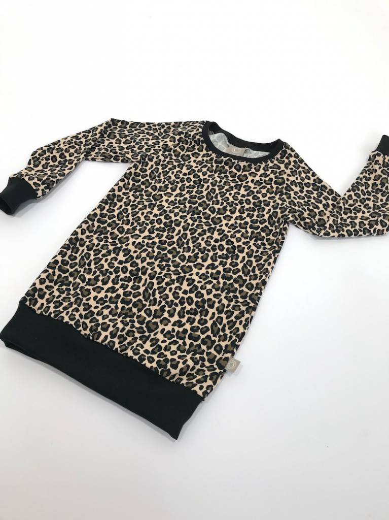 tinymoon Lovely Leopard brown / Sweater Dress