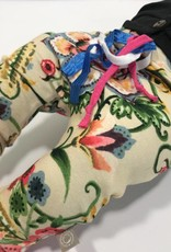 Baggy broekje met bloemenpracht erop