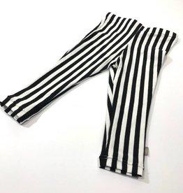 Broek - Legging - Zwartwit - Stripe Black-White