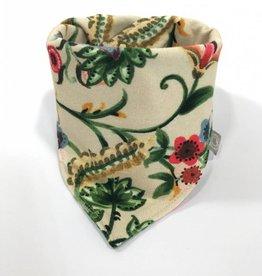 Sjaal - Slab bandana - Crème - Fleur Fleurie