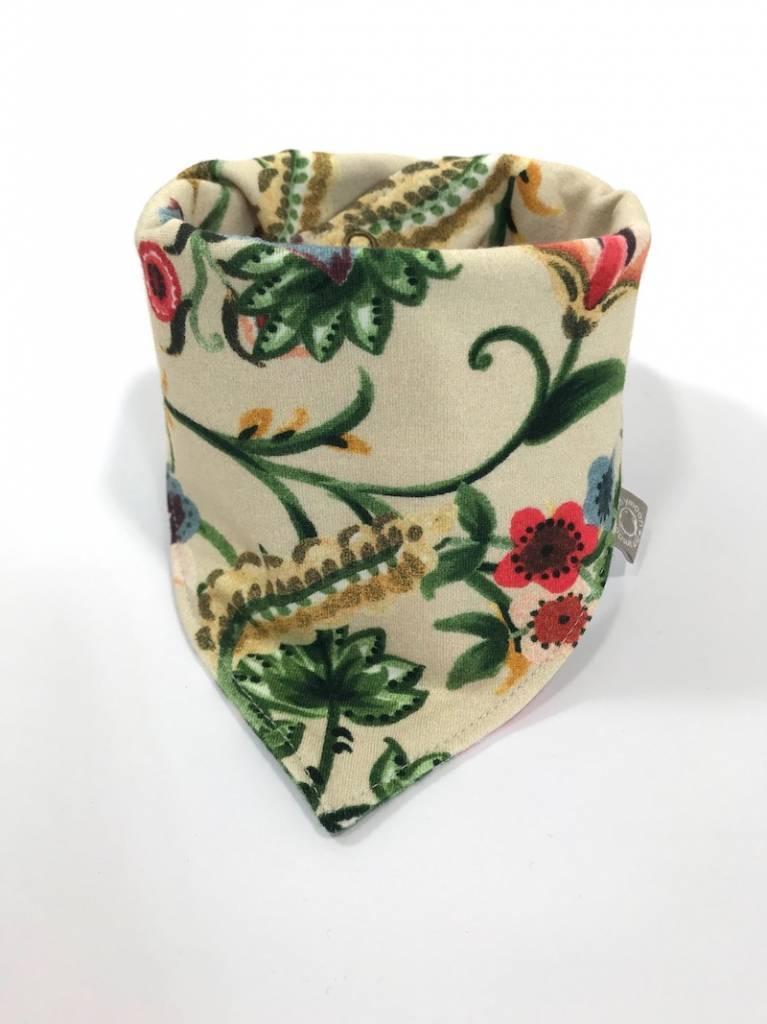 tinymoon Fleur Fleurie blanc / slab bandana sjaal