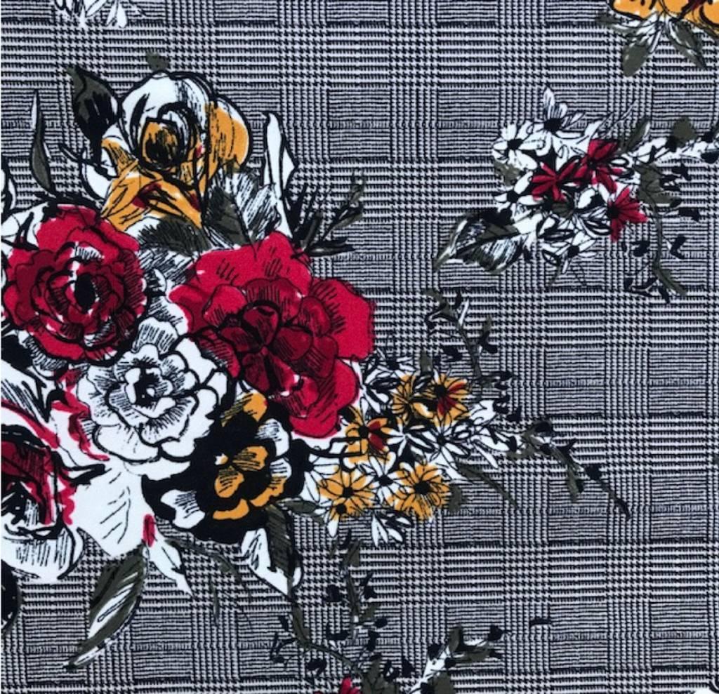 Checkered Rose / legging
