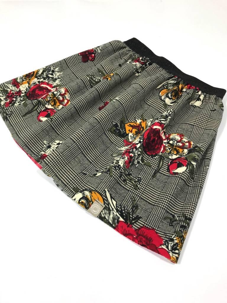 Checkered Rose / rokje